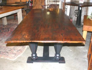 DT-81 Trestle Table - fullview end shot
